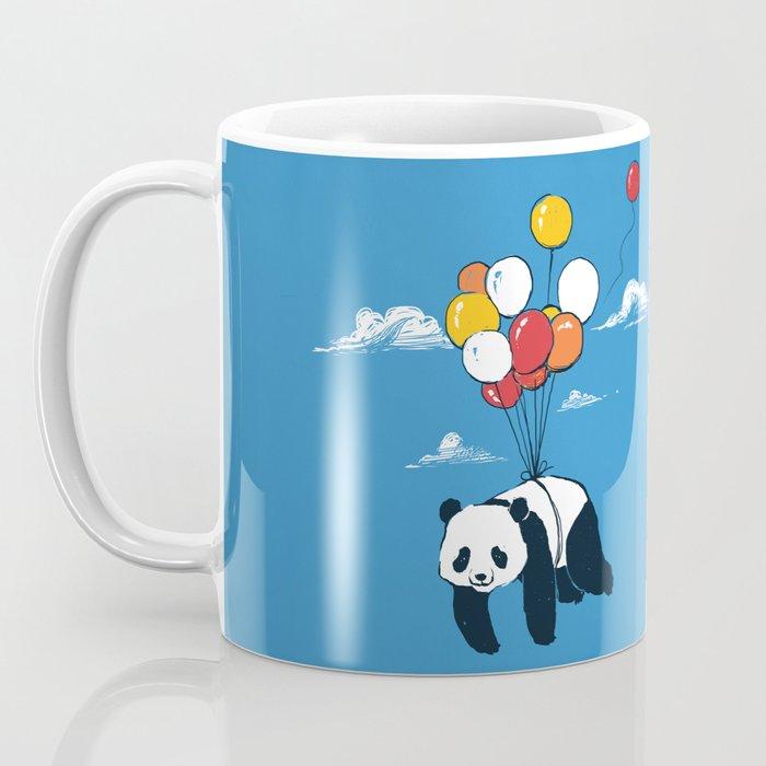 Flying Panda Coffee Mug