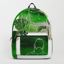 Monstera Daddy Backpack