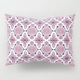 Lilac Moroccan Tiles Pillow Sham