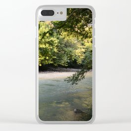 River of woe Clear iPhone Case