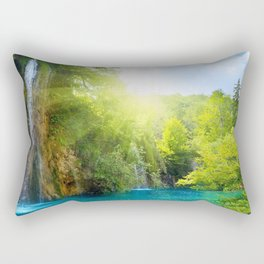 Devil's Punchbowl Falls Trailhead Angwin California Untied States Rectangular Pillow
