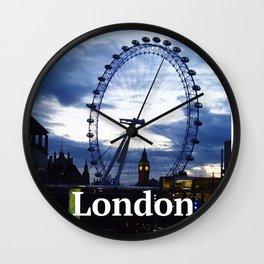 I still love you London! Wall Clock