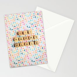 This is My Happy Place Stationery Cards