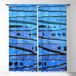 Paul Klee Heroic Strokes Blackout Curtain