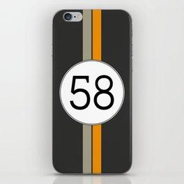 Rally 58 iPhone Skin