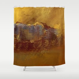 City Impressionism by the Bay Shower Curtain