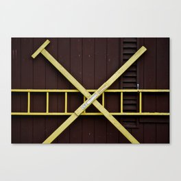Door with x Canvas Print