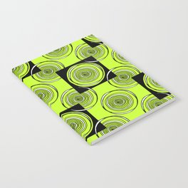 Lime Rings Notebook