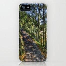Autumn Countryside iPhone Case
