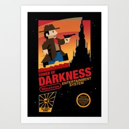 Tower of Darkness Art Print