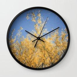 Springtime in Arizona Wall Clock