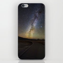 Grand Prismatic Spring Under The Milky Way iPhone Skin