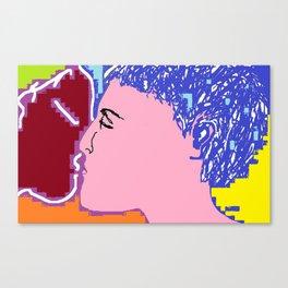 250615 12:23 The Kiss 01 Canvas Print