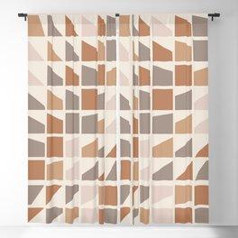 Changing terrazzo pattern Blackout Curtain