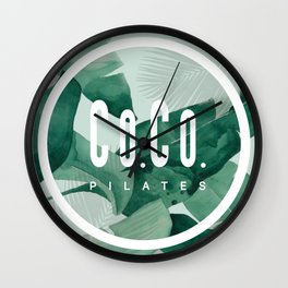 Co.Co. Pilates Wall Clock