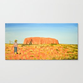 Ayers Rock (Uluru) Canvas Print