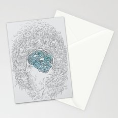 Ancient Brainstorm grey Stationery Cards