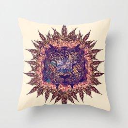 Tiger Design Throw Pillow