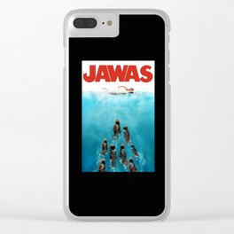 funny starwars jawas Clear iPhone Case