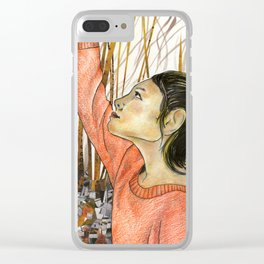 A Walk in the Woods Clear iPhone Case