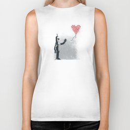 Binary Art Biker Tank