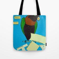 The Wayward Parrot  Tote Bag
