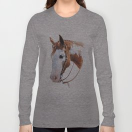 Western Horse Long Sleeve T-shirt