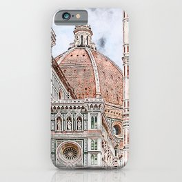 Florence Cityscape iPhone Case