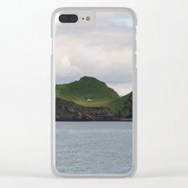 Icelandic Isolation Clear iPhone Case
