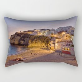 Carvoeiro village, Portugal, the Algarve Rectangular Pillow