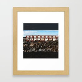 Terminus Framed Art Print