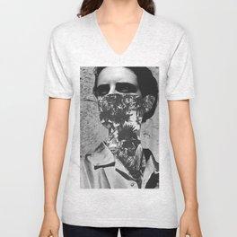 Tribal mask Unisex V-Neck