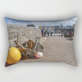 Tenby Fishing bits  Rectangular Pillow