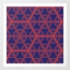 Tesselate Art Print