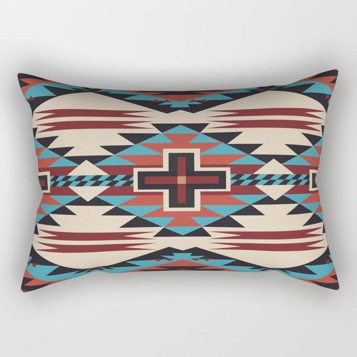 American Native Pattern No. 67 Rectangular Pillow