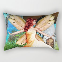 Pretty Rectangular Pillow