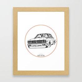 Crazy Car Art 0222 Framed Art Print