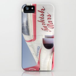 Northrop F5 Turkish stars iPhone Case