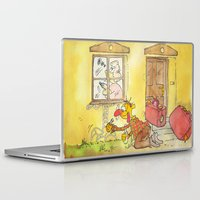witch Laptop & iPad Skins featuring Witch by Pepan