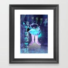 l'arracheur de dent Framed Art Print