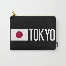 Japan: Japanese Flag & Tokyo Carry-All Pouch