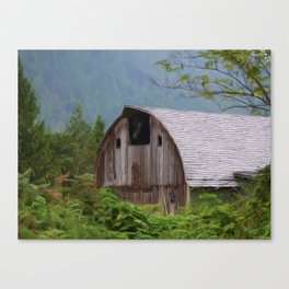 Middle Of Nowhere - Country Art Canvas Print