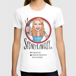 Sydney Langley Illustration Logo T-shirt