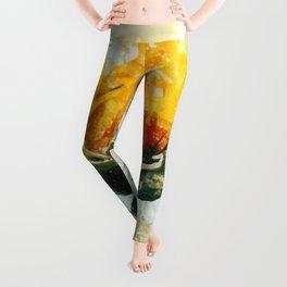 Born in Sunflower Leggings