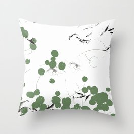 It's a pond life Throw Pillow
