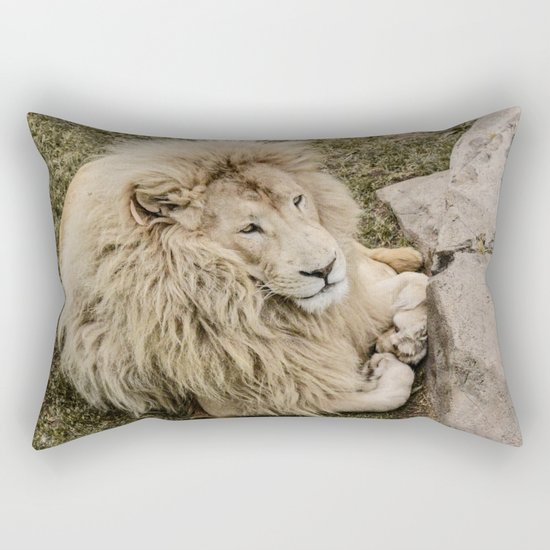 Lion of Judah Rectangular Pillow