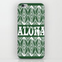aloha iPhone & iPod Skins featuring ALOHA by Lonica Photography & Poly Designs