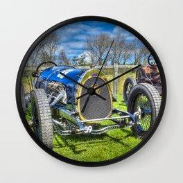 Pic-Pic Vintage Racing Car Wall Clock