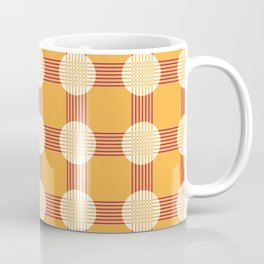 Crossover lines seamless pattern Coffee Mug
