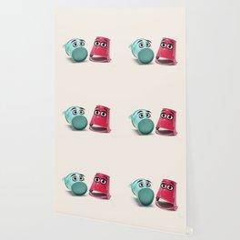 Chatting Buckets Wallpaper
